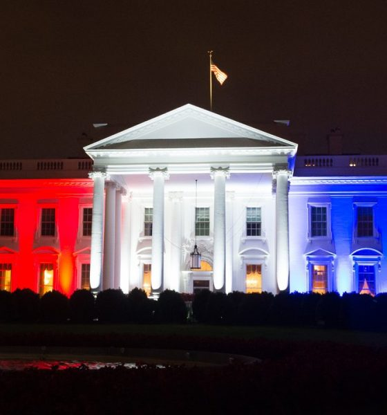 The white house fourth of July 2020